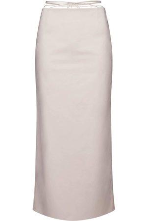 MAGDA BUTRYM Women Midi Skirts - Stretch Cotton Midi Skirt