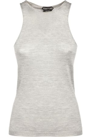 Tom Ford Women Tank Tops - Cashmere & Silk Knit Tank Top
