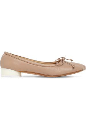 MM6 MAISON MARGIELA 25mm Leather Ballerinas