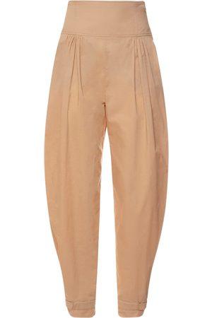Alberta Ferretti Women Pants - Cotton Poplin Balloon Pants