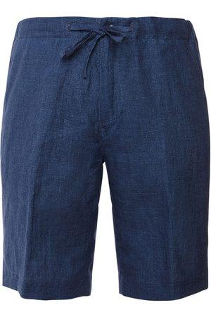 Loro Piana Linen Bermuda Shorts W/ Drawstring