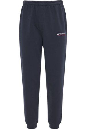 Vetements Haute Couture Logo Mollleton Sweatpants