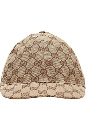 Gucci Gg Supreme Cotton Canvas Trucker Hat