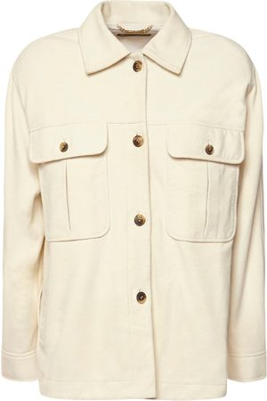 Alberta Ferretti Suede Leather Jacket