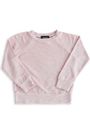 MONROW Little Girl's & Girl's Supersoft Raglan Sweatshirt - - Size 8