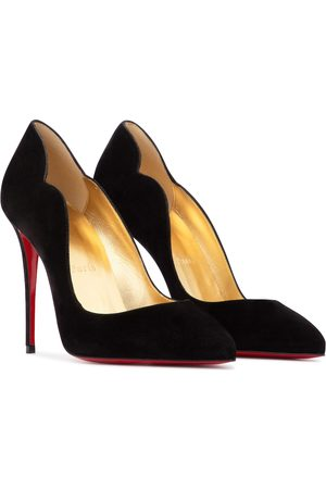 Christian Louboutin Exclusive to Mytheresa – Hot Chick 100 suede pumps