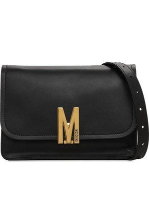 Moschino Women Shoulder Bags - Leather Shoulder Bag W/logo