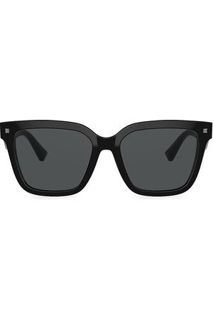 VALENTINO Women's 55MM Solid Square Sunglasses