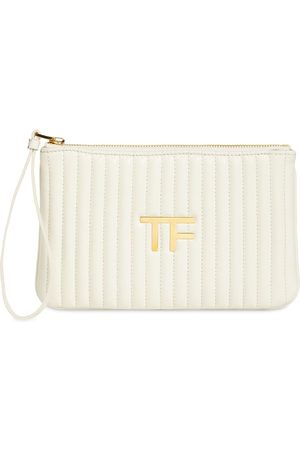 Tom Ford Tf Quilted Leather Pouch