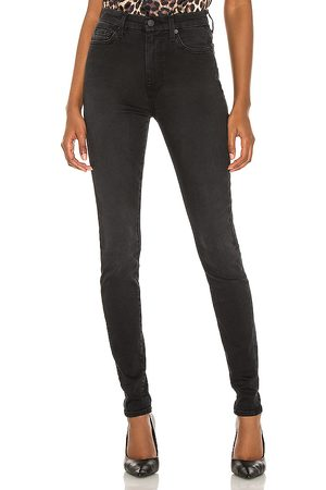 7 for all Mankind The High Waist Skinny in Black.