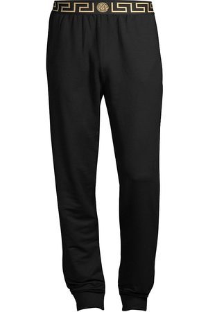 VERSACE Men's Greca Border Gym Trousers - - Size 4 (Small)