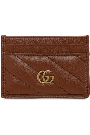 Gucci Women Wallets - Gg Marmont Quilted Leather Card Holder