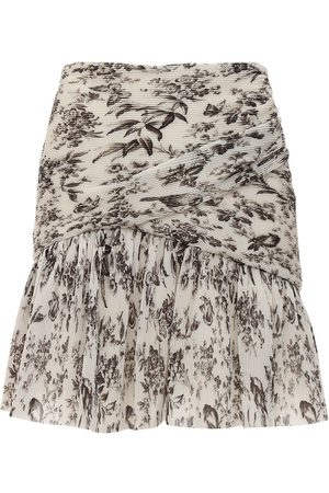ZIMMERMANN Printed Georgette Mini Skirt