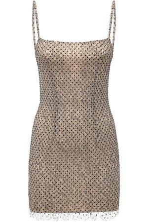 Zeynep Arcay Polka Dot Lace Bodycon Dress