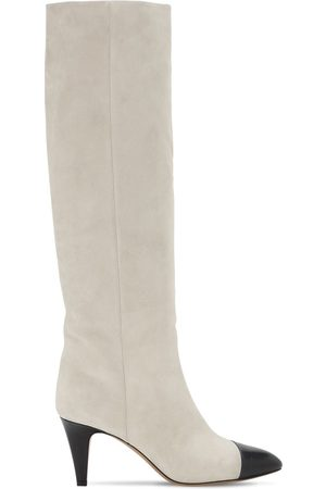Isabel Marant Women Thigh High Boots - 75mm Looma Suede Tall Boots