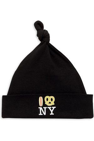 PiccoliNY Baby's Hot Dog Pretzel NY Knot Hat