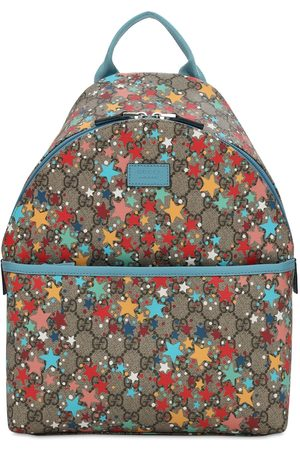 Gucci Gg Supreme Stars Print Backpack