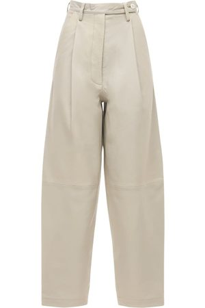 REMAIN Cleo Leather Straight Pants