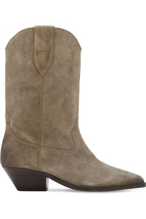 Isabel Marant 40mm Duerto Suede Boots