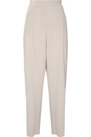 Max Mara Stretch Jersey Straight Leg Pants