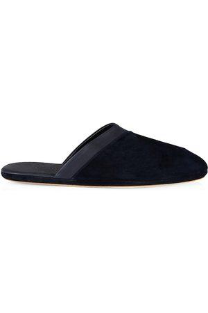 JOHN LOBB Men's Suede Slippers - - Size 10