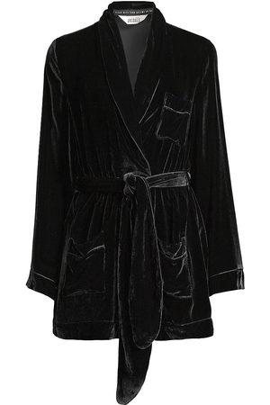 Sleeping with Jacques Women's Bon Vivant Velvet Robe - - Size 2 (Medium)