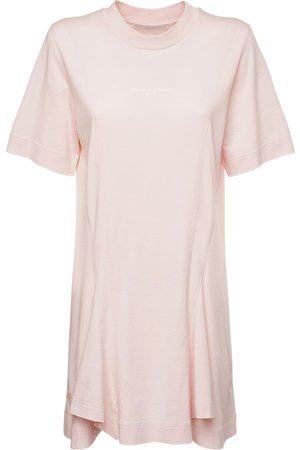 Stella McCartney Logo Organic Cotton Jersey Dress