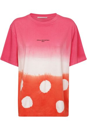 Stella McCartney Women T-shirts - Tie Dye Organic Cotton Jersey T-shirt