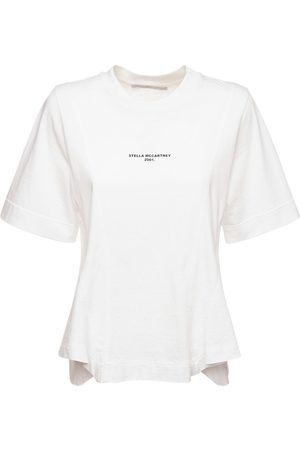 Stella McCartney Logo Organic Cotton Jersey T-shirt