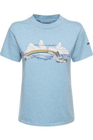 Stella McCartney Printed Organic Cotton Jersey T-shirt