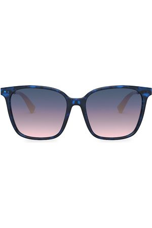 VALENTINO Women's 57MM Square Gradient Sunglasses