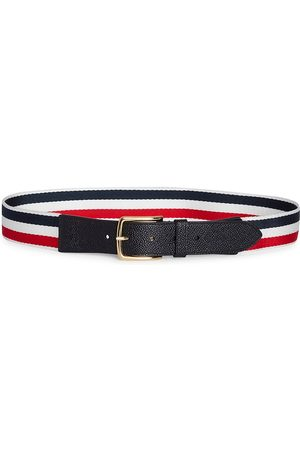 Thom Browne Men's Baseball Striped Belt - - Size 105 (42)