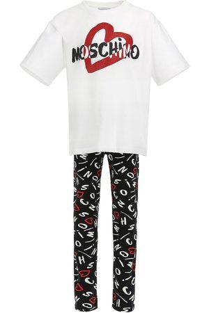 Moschino Cotton Jersey T-shirt & Leggings