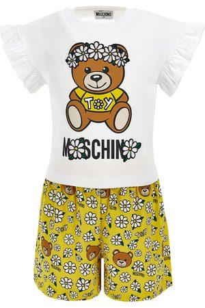 Moschino Daisy Print Jersey T-shirt & Shorts