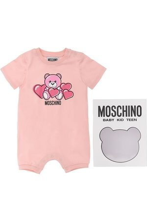Moschino Toy Print Cotton Jersey Romper