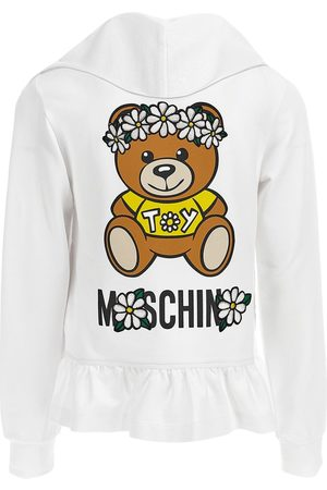 Moschino Toy Print Cotton Sweatshirt Hoodie