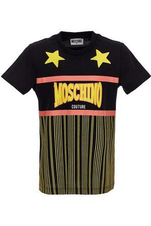 Moschino Printed Cotton Jersey T-shirt