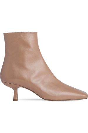 By Far 50mm Lange Leather Ankle Boots
