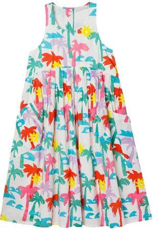 Stella McCartney Palm Print Cotton Dress