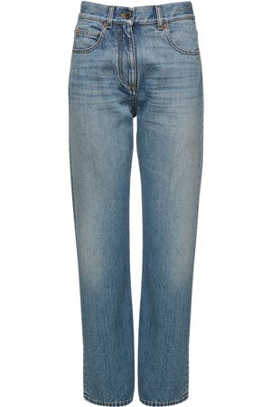 VALENTINO Baggy Cotton Jeans