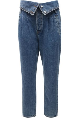 RE/DONE Women Jeans - 80s Fold Over Jeans