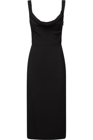 VALENTINO Fitted Cady Evolution Dress