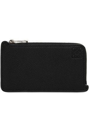 Loewe Zip Leather Coin Cardholder