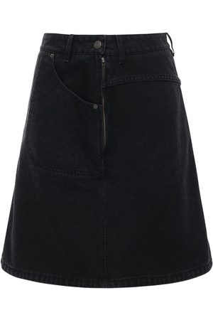 Kenzo Cotton Denim Mini Skirt