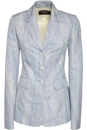Rochas Moirè Jacquard Single Breast Jacket
