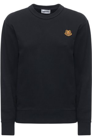 Kenzo Logo Cotton Fleece Sweatshirt