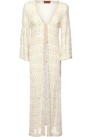 Missoni Viscose Blend Knit Cover Up Long Dress