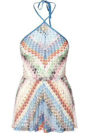Missoni Viscose Knit Mini Jumpsuit