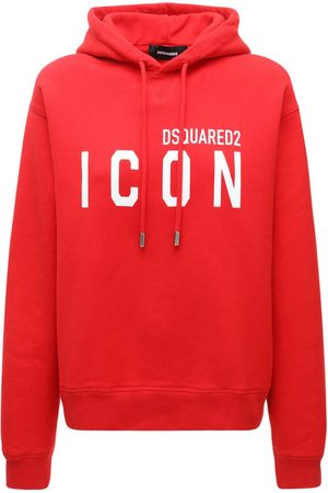 Dsquared2 Icon Logo Cotton Jersey Hoodie