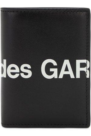 Comme des Garçons Logo Print Leather Wallet